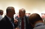 Prof. Dr. Stanley Paulson (Kiel/St. Louis) im Gespräch mit Prof. Dr. Marian Pavcnik (Llubljana)