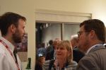Dr. Jakob Weissinger (Münster, Träger des Nachwuchspreises der deutschen Sektion); Dr. Annette Brockmöller (Stuttgart); Prof. Dr. Stephan Kirste (Salzburg)